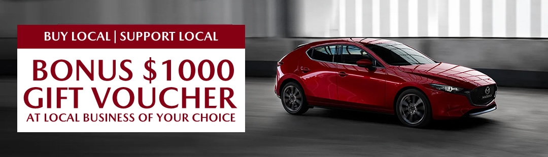 $1000 Voucher at Local Business of your Choice!